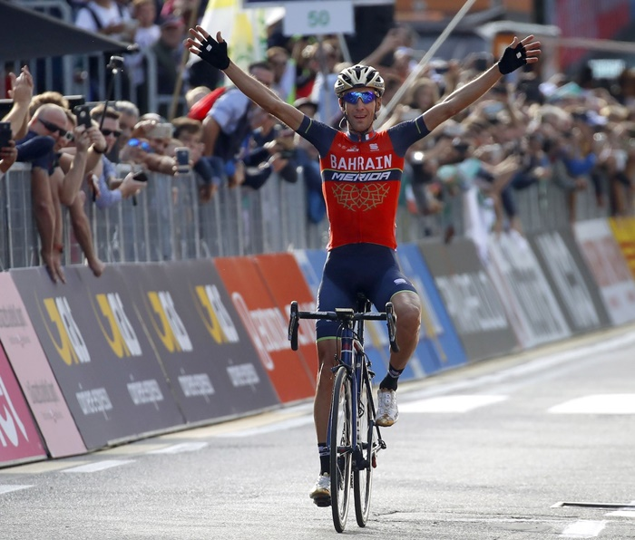 Vincenzo Nibali gianh chien thang Classic il Lombardia